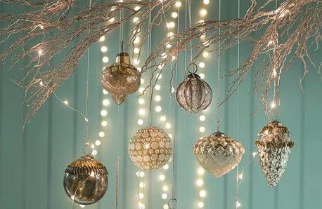 Dekorácie, ozdoby a vetvičky pre dokonalé sviatky