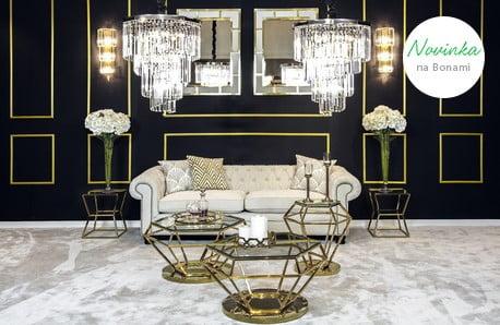 Elegantný nábytok a osvetlenie