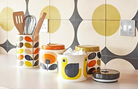 Veselé farby a vzory inšpirované retrom