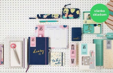 Čarovné zápisníky, diáre a kopec ďalších drobností z papiernictva ♥