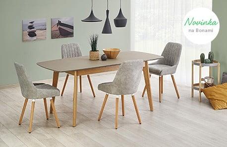 Jedálenské stoly a stoličky spestria rodinné stretnutia