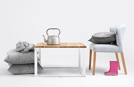 Nábytok a svietidlá so škandinávskymi prvkami