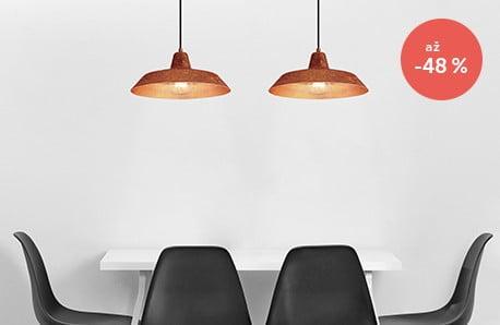 Minimalistické stropné svietidlá s industriálnym nádychom
