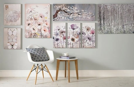 Obrazy, plagáty a samolepky a nástenné osvetlenie
