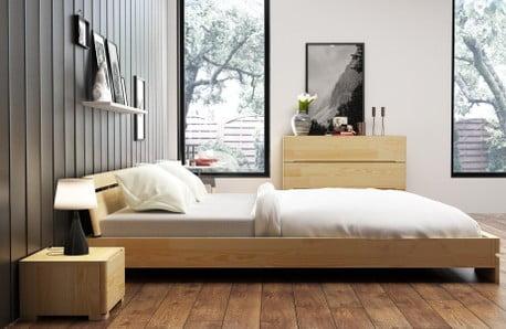 Postele, komody a nočné stolíky z masívu