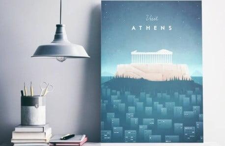 Nádherné plagáty s milovanými destináciami