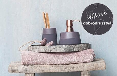 Luxusné uteráky a kúpeľňové doplnky