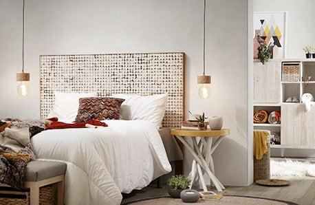 Elegantné vybavenie spálne v modernom poňatí