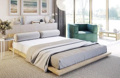 Vyberte si posteľ, štýlovú komodu i mäkučké obliečky