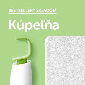 Krásne a praktické kúsky, ktoré budú ozdobou vašej kúpeľne