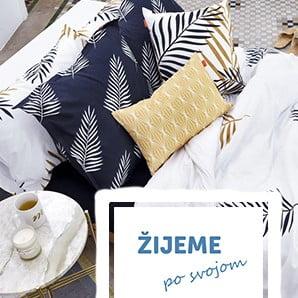 Minimalistické vzory, jednoduché farby a 100% bavlna