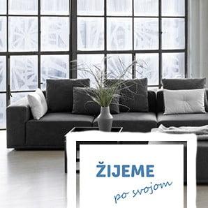 Minimalisticky moderný nábytok a doplnky