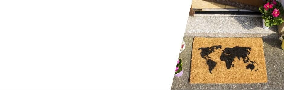 Artsy Doormats, asertívne rohožky