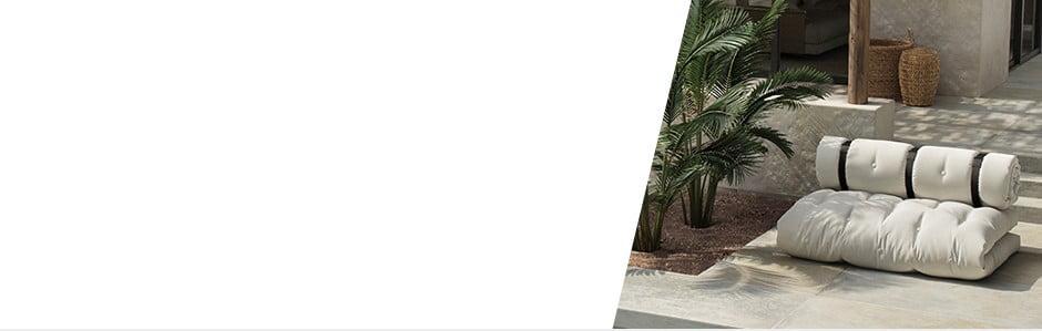 Karup OUT: rozkladacie pohovky a kreslá na terasu