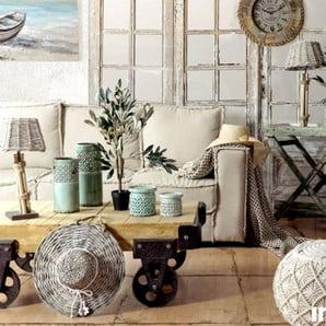 Nábytok a dekorácie pre boho bývanie