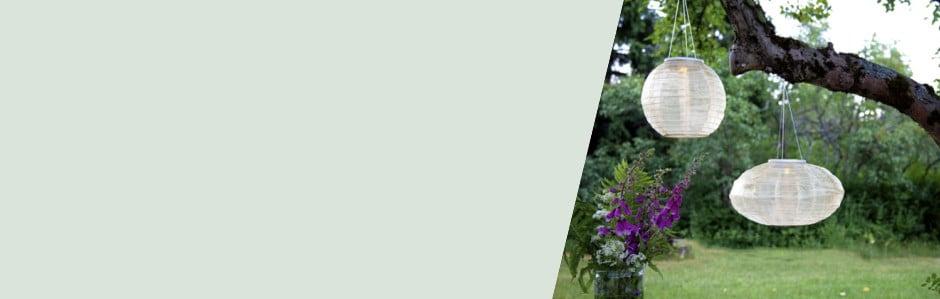 Rozjasnite záhradu svietidlami do exteriéru