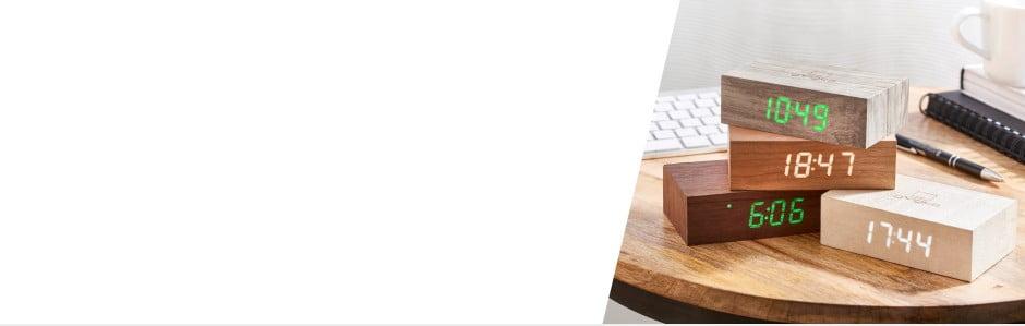 Gingko: štýlové a šikovné LEDbudíky a lampy