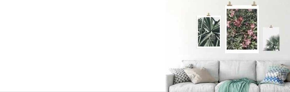 4 tipy ako premeniť svoje steny na umelecké plátno