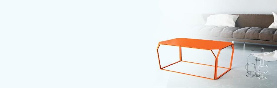 Kovový taliansky nábytok MEME Design