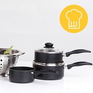 Pomocníci na pečenie, varenie aj servírovanie