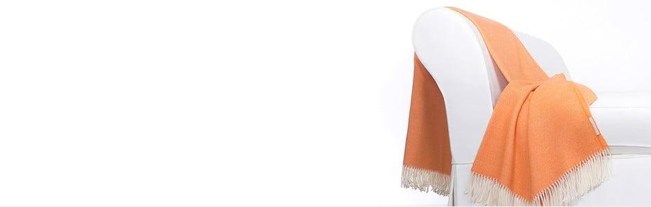 Luxusné vlnené prikrývky