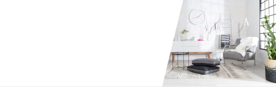 Osviežte obývačku bielou