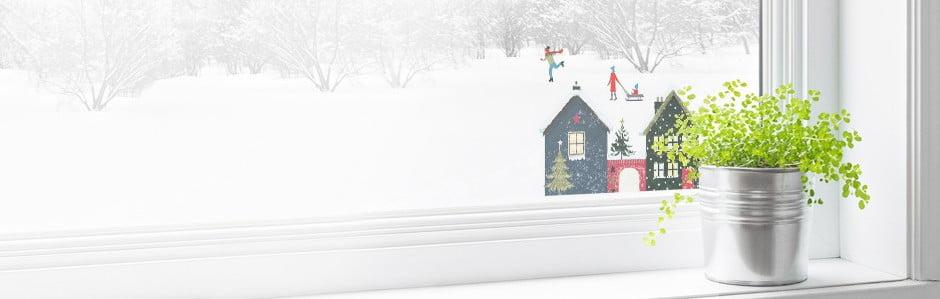 Vianoce za oknami