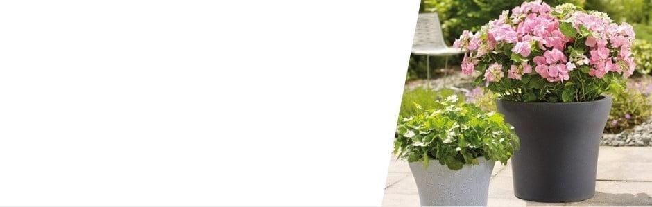 Vonkajšie kvetináče Scheur