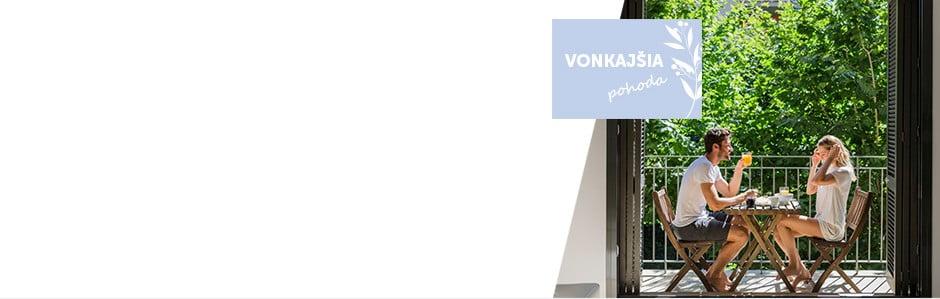 Nábytok a doplnky pre váš balkón či terasu