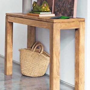 Orientálny akcent nábytku Massive Home z exotických drevín