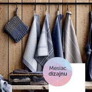 Obliečky, vankúše a kuchynský textil zo Škandinávie