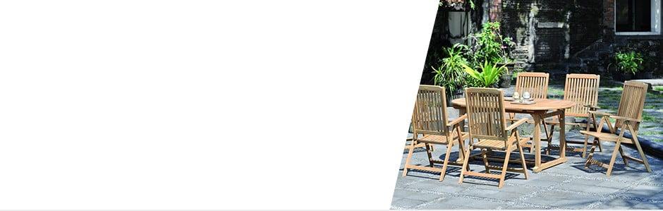 Drevený nábytok pre vašu terasu aj záhrADDU