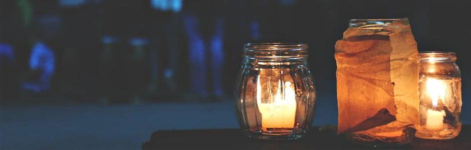 Sviečky, ktorými nič nepodpálite