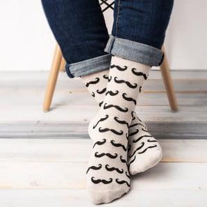 Veselé unisex ponožky s veľkosťou 39/45