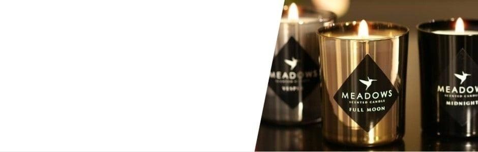 Luxusné české sviečky Meadows