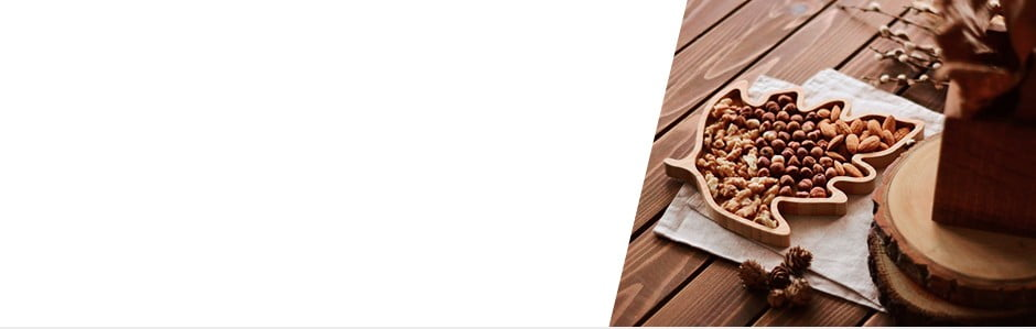 Bambusové kuchynské aservírovacie doplnky