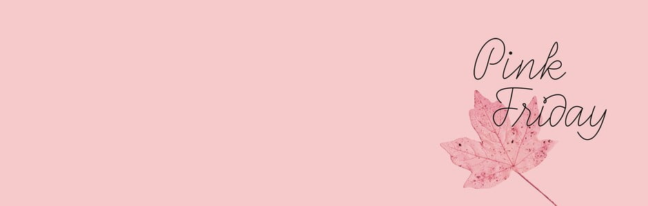Pink Friday: láskyplné zľavy na obľúbené produkty