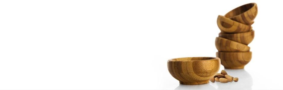 Bambus, bridlica a porcelán
