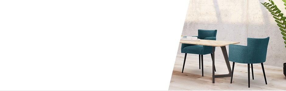 Ozvláštnite svoju jedáleň pestrými  farbami