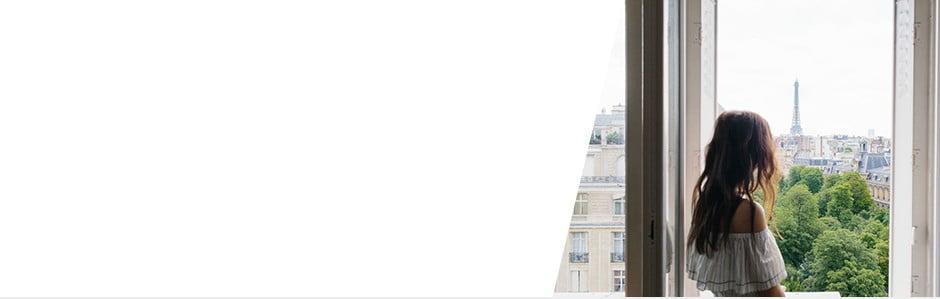 Moderný loft s výhľadom na Eiffelovu vežu
