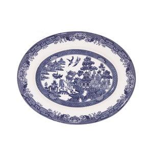 Servírovací tanier Churchill China Blue Willow, 31 cm