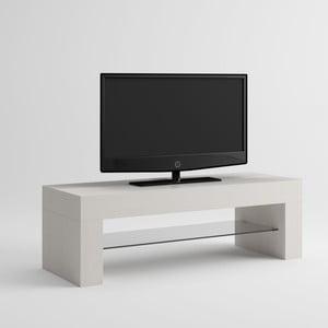 TV stolík v dekore bielej borovice MobiliFiver Evo
