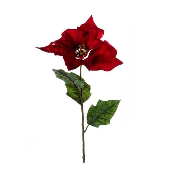 Umelý kvet Vianočná hviezda, červená