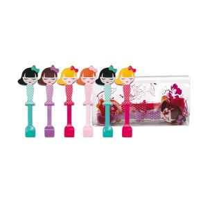 Sada 6 detských lyžičiek Princess