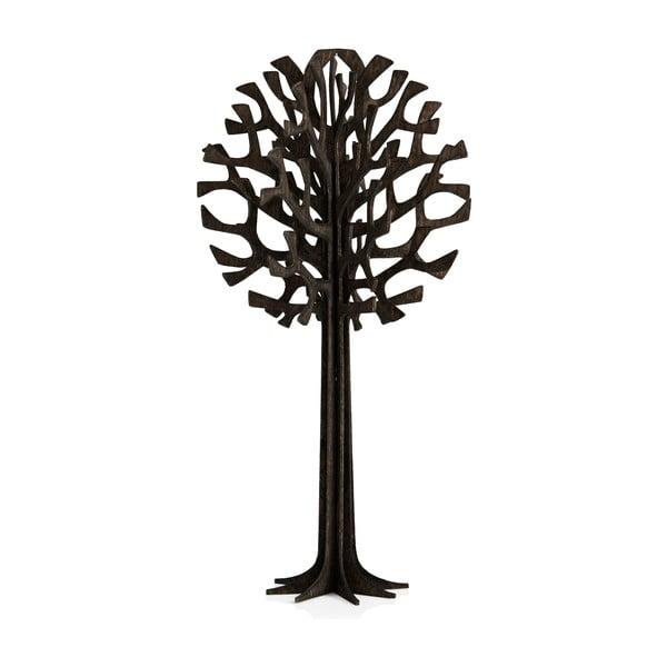 Skladacia pohľadnica Lovi Tree Black, 13.5 cm