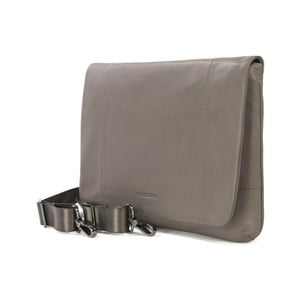 Sivá taška na rameno z talianskej kože Tucano One