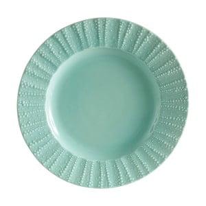 Zelený servírovací kameninový tanier Côté Table Posei
