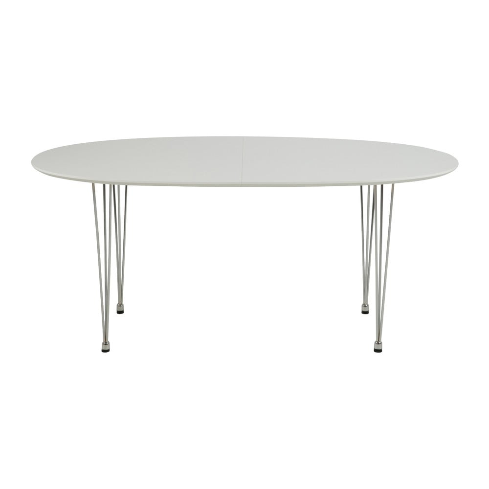 Biely Jedálenský stôl Actona Carina