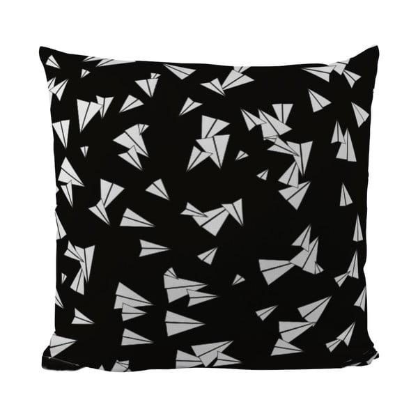Vankúšik Black Shake Let's Fly, 50x50 cm