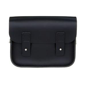 Kožená kabelka cez rameno Pensford Black